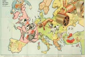 65/5681   [Caricatural maps]. Hark! Hark! The Dogs do Bark! Serio-Comique
