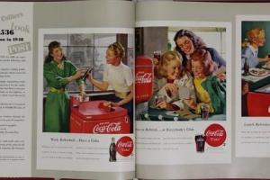 65/4949   [Commercial art]. Coca Cola Advertising Manual.