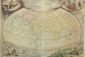 65/5823   [Worldmaps]. Universalis Tabula Iuxta Ptolemeum.