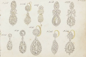 66/2855   [Jewelry designs]. Anonymous (first half 18th cent.).