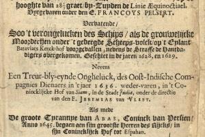 66/3601   [VOC and WIC]. Pelsaert, F.