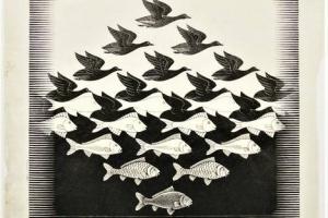 67/3706   Escher, M.C. (1898-1972).