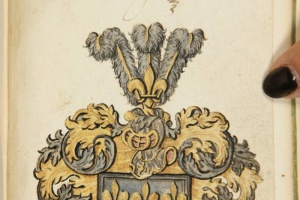 67/2525   [Alba amicorum]. Album amicorum of ARNOLD LANG,