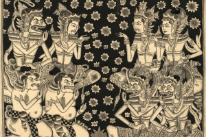 68/1279   [Paintings and drawings]. I Ketut Gedjer (1st half 20th cent.).