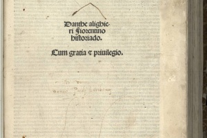 68/3304   Dante Alighieri.