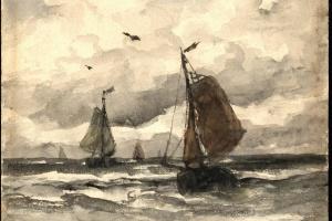 68/5969   Mesdag, H.W. (1831-1915).