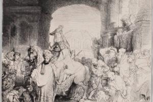 69/6018   Rembrandt van Rijn (1606-1669).