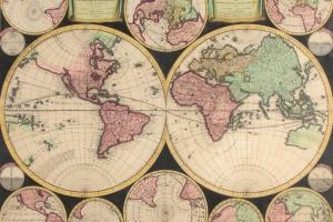 69/6317   [Worldmaps]. Planisphaerium Terrestre, Sive Terrarum Orbis (...)