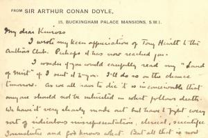69/2735   Doyle, A. Conan (1859-1930).
