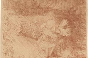69/6007   Rembrandt van Rijn (1606-1669).