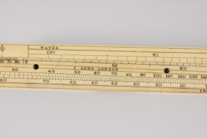 70/2623   [Scientific instruments]. Alcohol proof slide rule,
