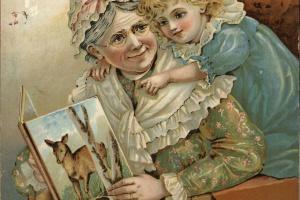 70/2152   Voor blondjes en zwartjes. Nieuw prentenboek met beweegbare plat