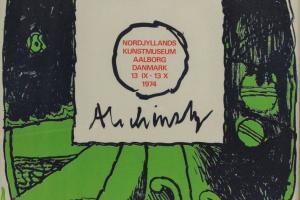 70/4924   [Posters]. Alechinsky, P. (b.1927).