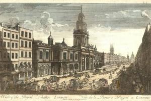 70/5768   [London]. A View of the Royal Exchange, London.