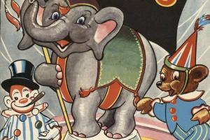 70/1963   Big Top Circus Book.