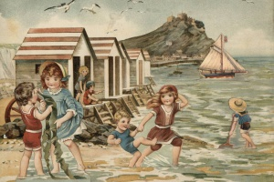 70/2148   [Tuck, R.]. With Father Tuck At the Seaside.