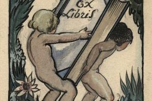 70/3583   [Ex libris]. Collot, A. (1897-1976).