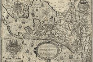 70/6058   [Holland]. Hollandt (Hollandia quae olim Catthorum sedes fuit (.