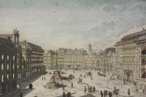 70/5824   [Vienna]. (View of the Am Hof Platz).