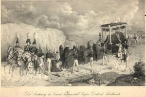70/5688   [Splendid ceremonies]. Der Leichenzug des General Feldmarschall