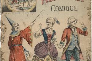 70/1703   [A.B.-books]. Nouvel Alphabet Comique. Instructif et trés amusan