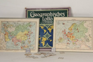 70/1870   [Games and toys. Lottery games]. Geographisches Lotto.