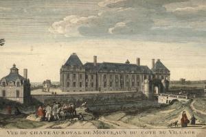 70/5821   [Versailles]. L'Isle Royalle.