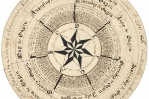 70/2656   [Calligraphy]. Lodewijk Kesper in den Echt Vereenigd den 26ste v