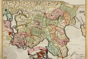 70/6096   [Noord-Holland]. Parte Septtentrionale dell'Hollanda, vulgò West