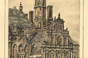 70/2193   [Haarlem and surroundings]. Alff, P. van.