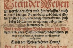 70/3187   [Occultism]. Medices, C. de.