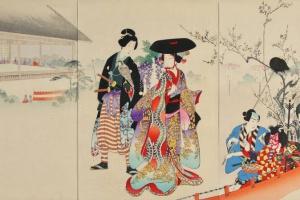 70/4661   Chikanobu (1838-1912).