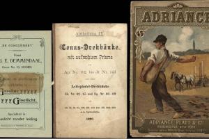 70/781   [Trade-catalogues]. Lot of 12 trade-catalogues,