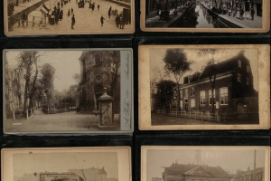 70/4382   [Amsterdam]. Lot of over 40 cabinet-photographs,
