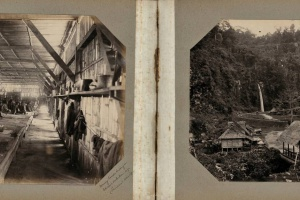 70/2318   [Photographs]. Album containing 95 loosely inserted photographs,