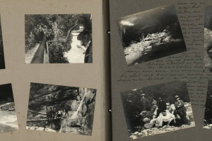 70/4479   [Germany]. Album with ±75 mounted photographs,