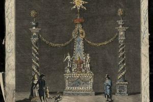70/5744   [Amsterdam]. (Illuminatiën en Decoratiën te Amsterdam op den 40s