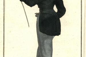 70/1684   [Fashion and costume]. Journal des dames et des modes. Year 1824