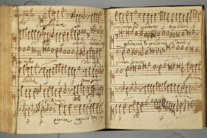 70/2713   [Music]. Manuscript songbook,