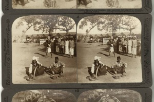 70/4586   [Stereophotographs. India]. Underwood & Underwood (1st half 20th cent.).