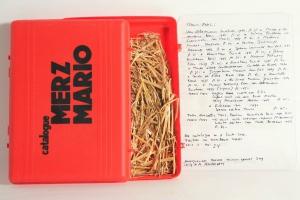 70/493   [Merz, M.]. Catalogue Merz Mario.