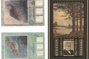 70/4847   [Calendars]. Hemelman, A. (1883-1951).