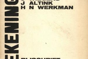 70/1660   [Werkman, H.N.]. Teekeningen J. Wiegers, J. Altink, H.N. Werkman