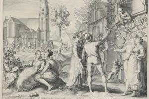 70/5674   Saenredam, J.P. (1565-1607).