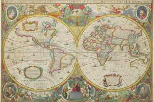 70/5968   [Worldmaps]. Nova totius terrarum orbis geographica ac hydrograp