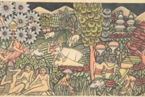 70/2307   [Paintings and drawings]. I Radoe (act.1930s).