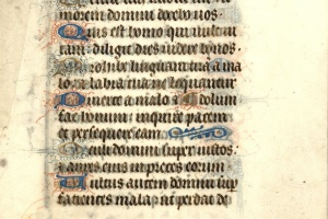 70/2701   [Medieval manuscripts]. Leaf from a Book of Hours,