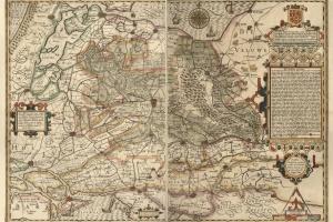 70/6108   [Utrecht]. Florentissimi Trajectini Principatus typus anthehac n