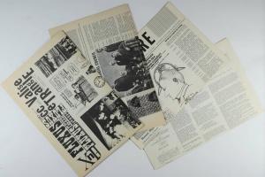 70/351   [Fluxus]. cc V TRE. Fluxus Magazine New York 1964-1970.