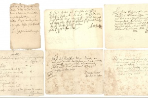 70/2688   [Germany]. Lot of ±60 financial documents concerning a parish(?)